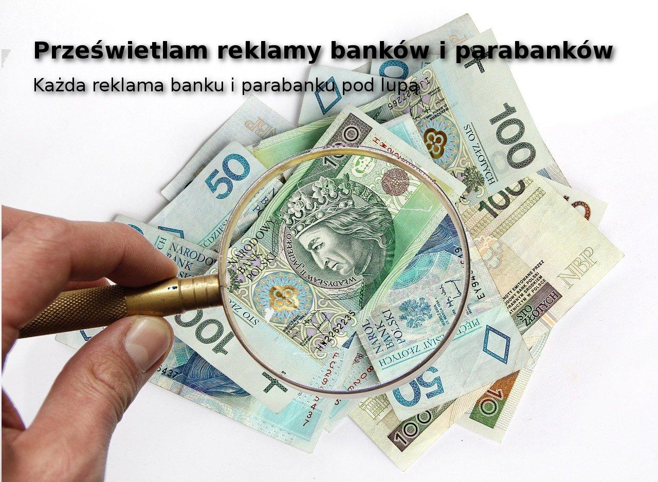 reklama banku i parabanku pod lupą