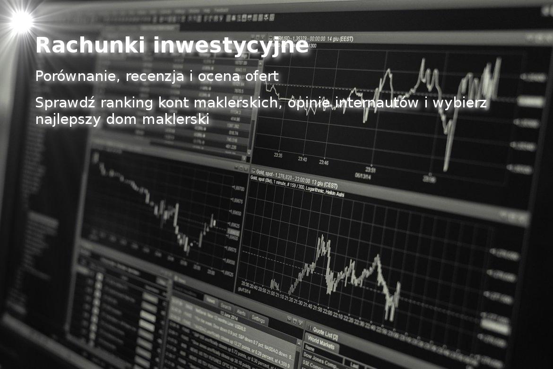 Rachunki inwestycyjne