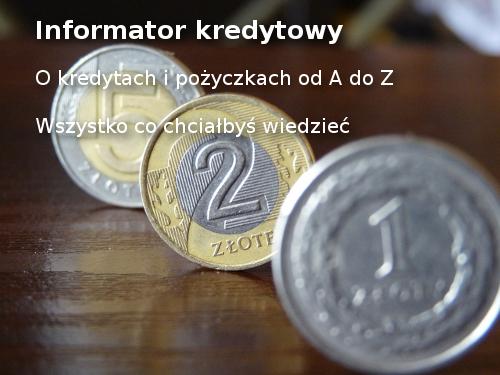 Informator kredytowy
