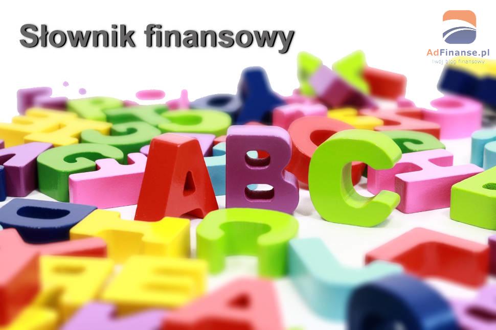 Słownik finansowy