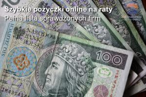 Szybka pożyczka na raty online